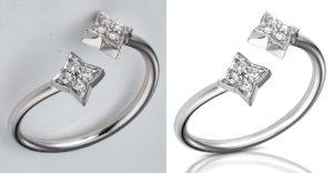 Jewelry Photo Retouching, Jewelry Photo editing, Jewelry product photo, Jewelry image